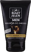 Fragrances, Perfumes, Cosmetics Beard Gel-Peeling - Bialy Jelen Men Peelin Gel