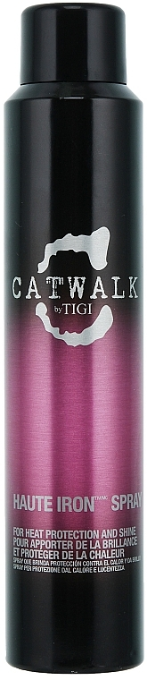Heat Protection Shine Hair Spray - Tigi Catwalk Haute Iron Spray