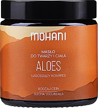 "Fragrances, Perfumes, Cosmetics Face & Body Oil ""Aloe"" - Mohani Aloe Vera Rich Batter"