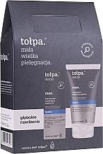 Fragrances, Perfumes, Cosmetics Set - Tolpa Dermo Men Hydro (a/sh/balm 125 ml + f/gel 75 ml)
