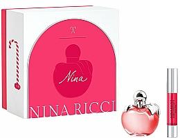 Fragrances, Perfumes, Cosmetics Nina Ricci Nina - Set (edt/50ml + lipstick/2.5g)