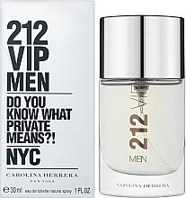 Fragrances, Perfumes, Cosmetics Carolina Herrera 212 VIP Men - Eau de Toilette