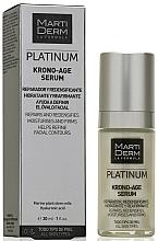Fragrances, Perfumes, Cosmetics Anti-Aging Face Serum - MartiDerm Platinum Krono-Age Serum