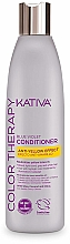 Fragrances, Perfumes, Cosmetics Hair Conditioner - Kativa Color Therapy Anti-Yellow Effect Conditioner