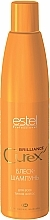 Fragrances, Perfumes, Cosmetics Shine Shampoo for All Hair Types - Estel Professional Curex Brilliance Shampoo