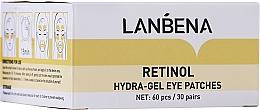 Fragrances, Perfumes, Cosmetics Retinol & Collagen Hydrogel Eye Patch - Lanbena Retinol Collagen Eye Patch