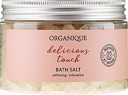 "Fragrances, Perfumes, Cosmetics Relaxing Bath Salt ""Delicious Touch"" - Organique"