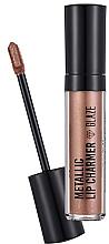 Fragrances, Perfumes, Cosmetics Lipstick - Flormar Metallic Lip Charmer Glaze
