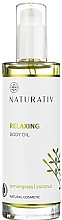 Fragrances, Perfumes, Cosmetics Relaxing Body Oil - Naturativ Relaxing Body Oil