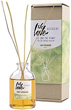 Fragrances, Perfumes, Cosmetics Reed Diffuser - We Love The Planet Light Lemongras Diffuser