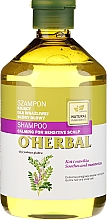 Fragrances, Perfumes, Cosmetics Licorice Extract Shampoo for Sensitive Scalp - O'Herbal
