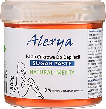 "Fragrances, Perfumes, Cosmetics Sugar Paste ""Mint"" - Alexya Sugar Paste Natural Menta"