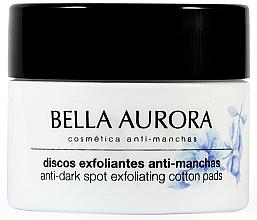 Fragrances, Perfumes, Cosmetics Cleansing Anti-Dark Spots Face Pads - Bella Aurora Anti-Dark-Spot Exfoliation Pads