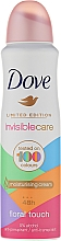 Fragrances, Perfumes, Cosmetics Deodorant Antiperspirant - Dove Invisible Care Floral Touch Antiperspirant Limited Edition