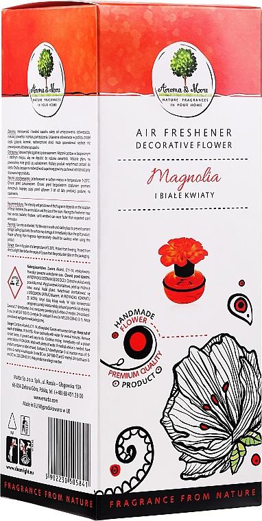 Magnolia & White Flowers Air Freshener Flower - Aroma & More Air Freshener