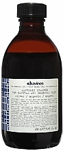 Fragrances, Perfumes, Cosmetics Natural & Colored Hair Shampoo (silver) - Davines Alchemic Shampoo