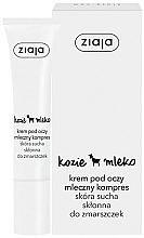 "Fragrances, Perfumes, Cosmetics Eye Cream ""Goat Milk"" - Ziaja Cream For Skin Around The Eyes"