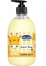 Fragrances, Perfumes, Cosmetics Liquid Soap - On Line Kids Time Liquid Soap Bubble Gum