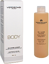 Fragrances, Perfumes, Cosmetics Slimming Anti-Swelling Gel - Verdeoasi Lightweight Legs Gel Slimming Anti-Swelling Action