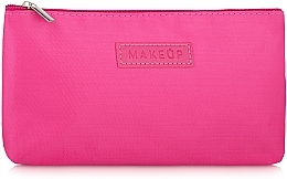 "Fragrances, Perfumes, Cosmetics Flat Makeup Bag, pink ""Girl's Travel"" - MakeUp"