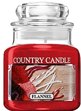 Fragrances, Perfumes, Cosmetics Scented Candle in Jar - Country Candle Flannel