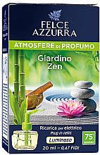 Fragrances, Perfumes, Cosmetics Electric Diffuser - Felce Azzurra Garden Zen (refill)