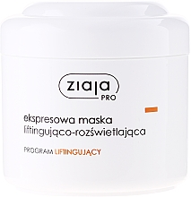 Fragrances, Perfumes, Cosmetics Lifting Facial Express-Mask - Ziaja Pro Lifting Express Mask