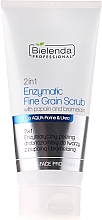 Fragrances, Perfumes, Cosmetics Papain and Bromelain Enzymatic Mineral Face Scrub 2 in 1 - Bielenda Professional Face Program 2in1 Enzymatic Fine Grain Scrub