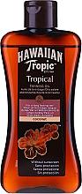 Fragrances, Perfumes, Cosmetics Tanning Accelerator Lotion - Hawaiian Tropic Coconut Tropical Tanning Oil