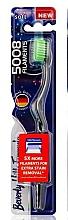 Fragrances, Perfumes, Cosmetics Toothbrush, soft, light green - Beverly Hills Formula 5008 Filament Multi-Colour Toothbrush