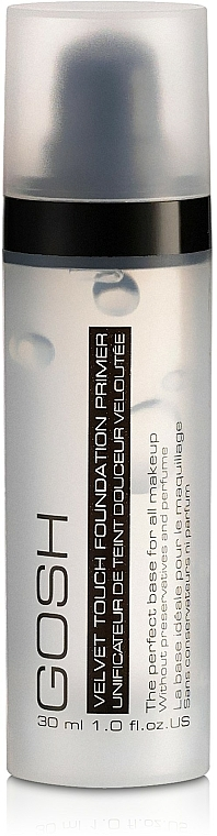 Clear Makeup Primer - Gosh Velvet Touch Foundation Primer