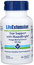Fragrances, Perfumes, Cosmetics Eye Support Maqui Berry Extract - Life Extension Tear Support with MaquiBright