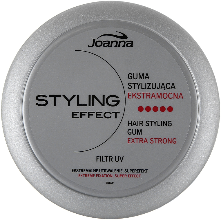 Creative Styling Hair Gum - Joanna Styling Effect Hair Styling Gum Extra Strong