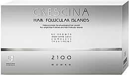 Fragrances, Perfumes, Cosmetics Women Hair Treatment Complex in Ampoules - Labo Crescina Complete Treatment Hair Follicular Island 2100