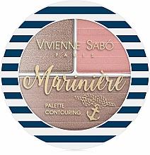 Fragrances, Perfumes, Cosmetics Contouring Palette - Vivienne Sabo Mariniere Palette Contouring