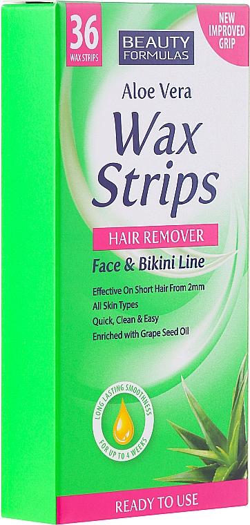 Mini Depilatory Strips - Beauty Formulas Wax Strips Face & Bikini Line
