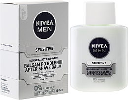 """Fragrances, Perfumes, Cosmetics After Shave Balm for Sensitive Skin """"Recovery"""" - Nivea For Men After Shave Balm"""