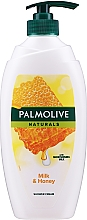 Fragrances, Perfumes, Cosmetics Shower Gel - Palmolive Naturals Milk Honey Shower Gel (with pomp)