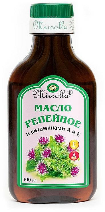 Burdock Oil & Vitamins A & E - Mirrolla
