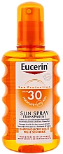 Fragrances, Perfumes, Cosmetics Body Sun Spray SPF 30 - Eucerin Sun Spray Transparent SPF 30