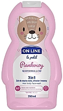 Fragrances, Perfumes, Cosmetics Body and Hair Cleanser 'Marshmallow' - On Line Le Petit Marshmallow 3 In 1 Hair Body Face Wash