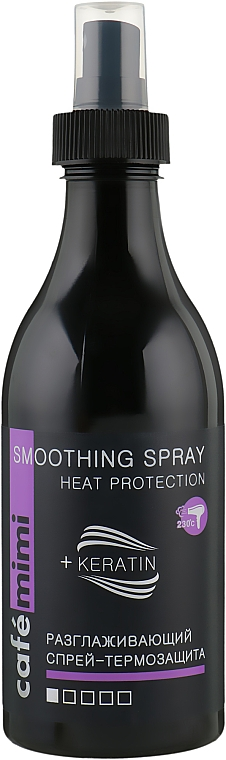 Smoothing Heat Protection Spray - Cafe Mimi Smoothing Spray Heat Protection
