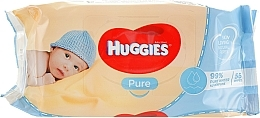 Fragrances, Perfumes, Cosmetics Kids Wet Wipes Pure 56 pcs - Huggies
