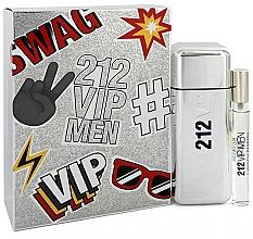 Fragrances, Perfumes, Cosmetics Carolina Herrera 212 VIP Gift Set 2 - Set (edt/100ml + edt/mini/10ml)