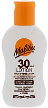 Fragrances, Perfumes, Cosmetics Sun Protection Lotion - Malibu Lotion SPF30