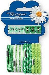 Hair Clips and Hair Ties Set 28144, 6+12pcs - Top Choice