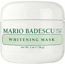Fragrances, Perfumes, Cosmetics Whitening Face Mask - Mario Badescu Whitening Face Mask