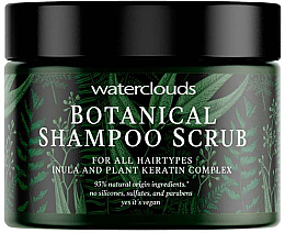 Fragrances, Perfumes, Cosmetics Shampoo Scrub - Waterclouds Botanical Shampoo Scrub