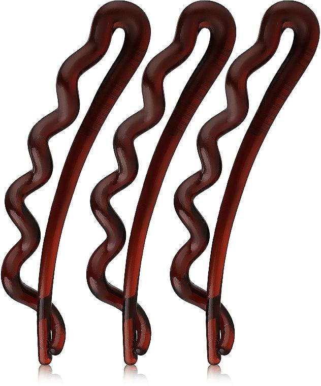 Hair Clip, golden - Invisibobble Waver Pretty Dark