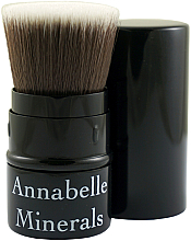 Fragrances, Perfumes, Cosmetics Retractable Powder, Blush and Bronzer Brush - Annabelle Minerals Flat Top